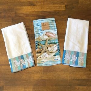 Other - ⛱NWT Bundle of 3 ⛱ Summer ⛱ Dish Towels
